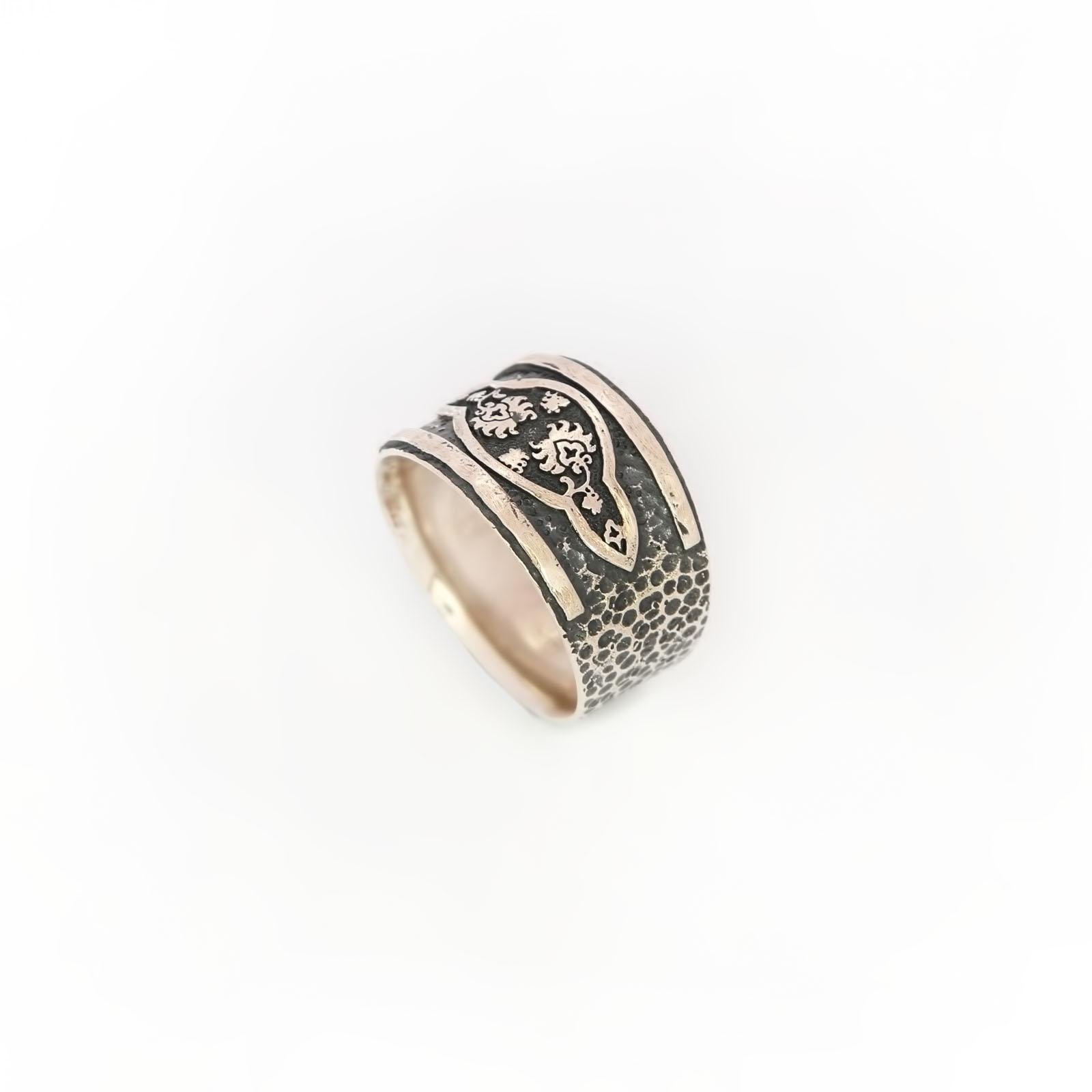 Серебряное кольцо «Соломея»