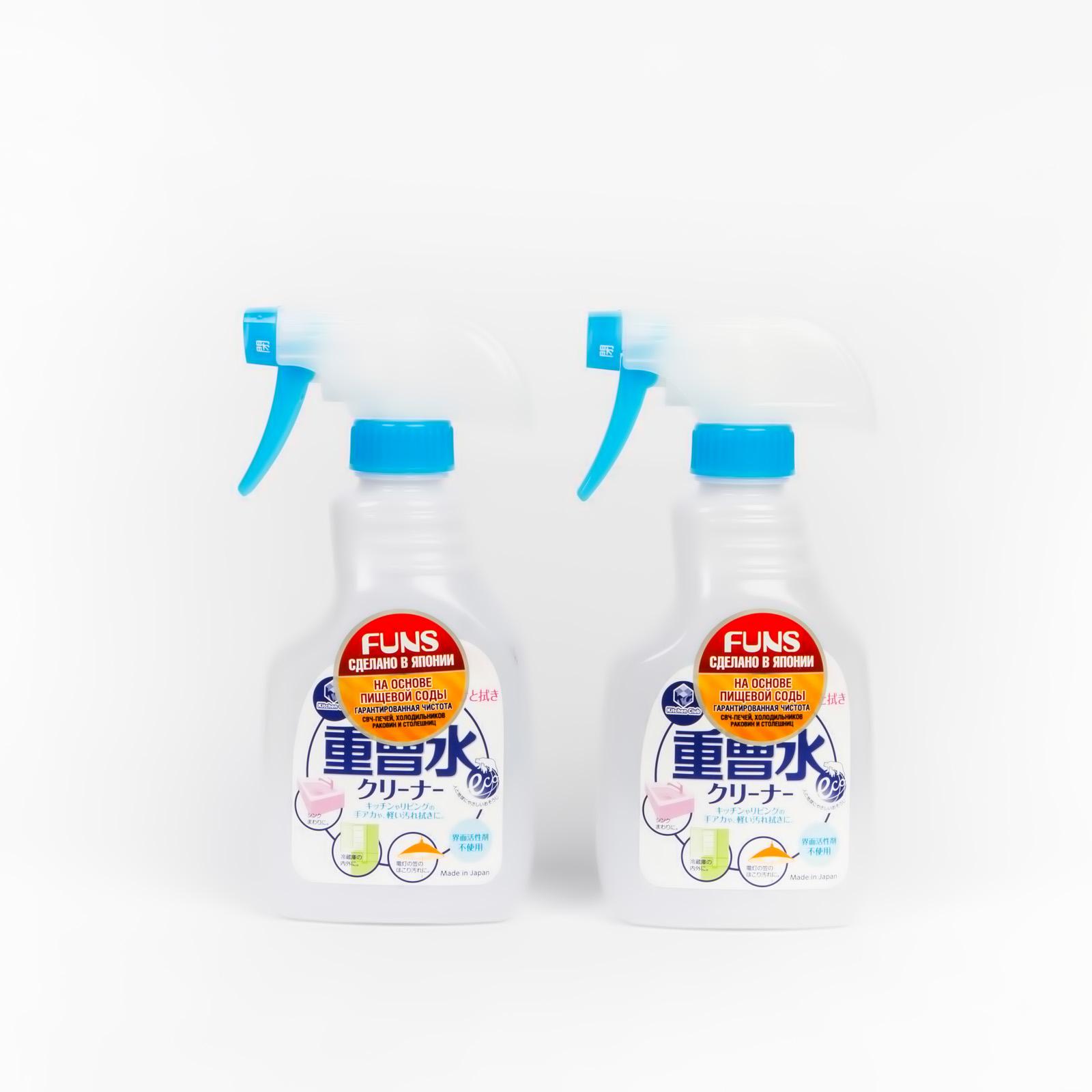 Спрей чистящий для дома на основе пищевой соды