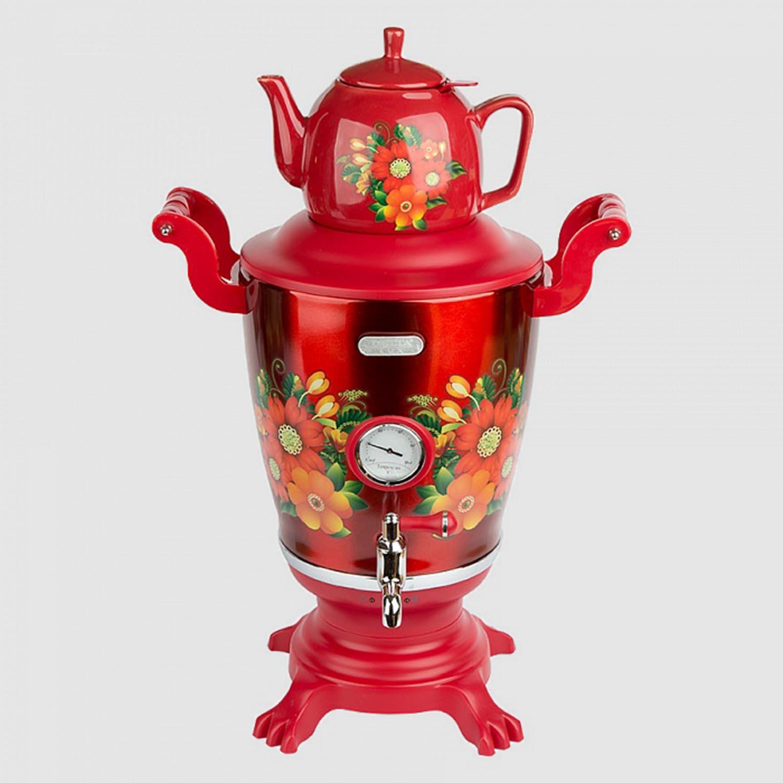 Электрический самовар «Горячий чай»