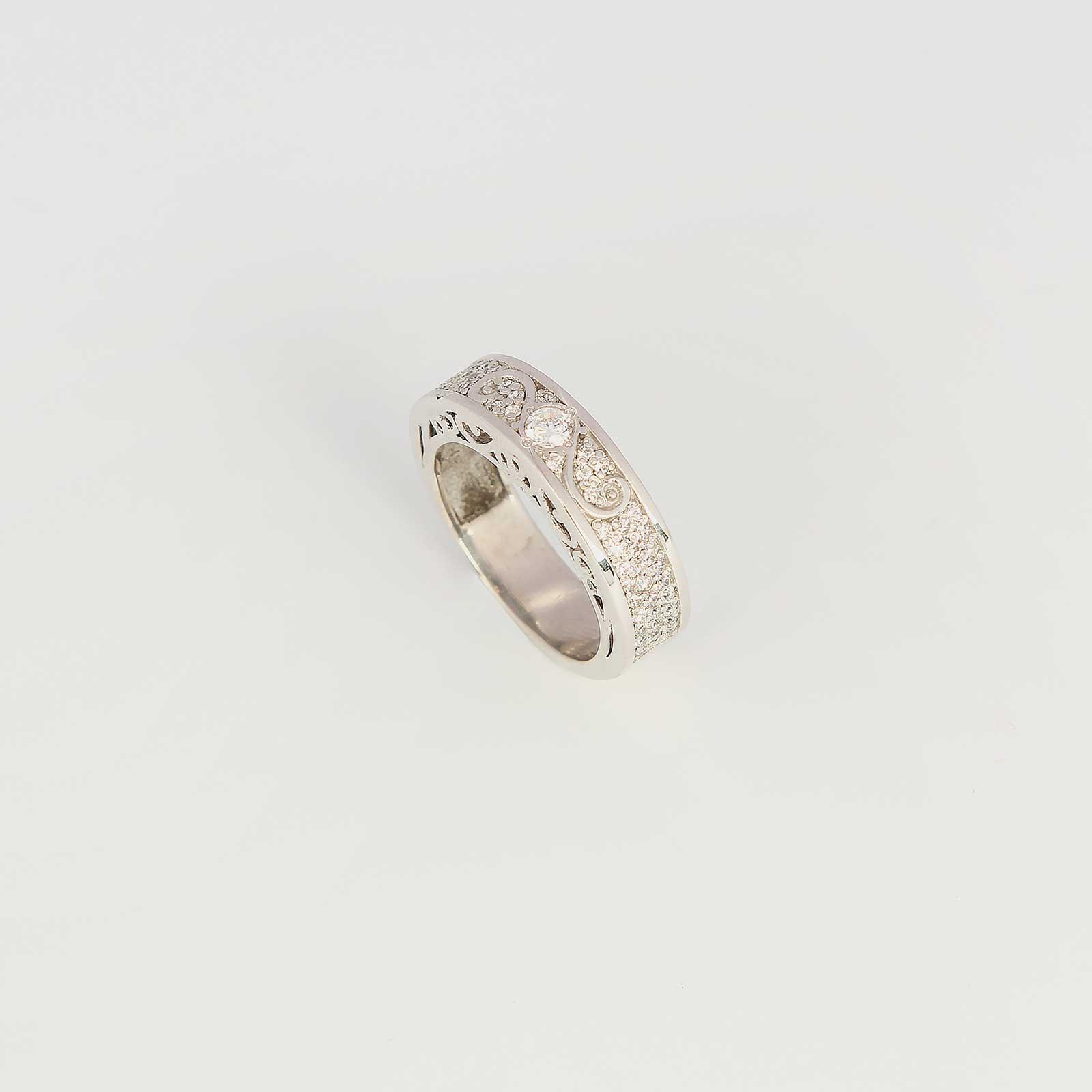 Серебряное кольцо «Милинда»