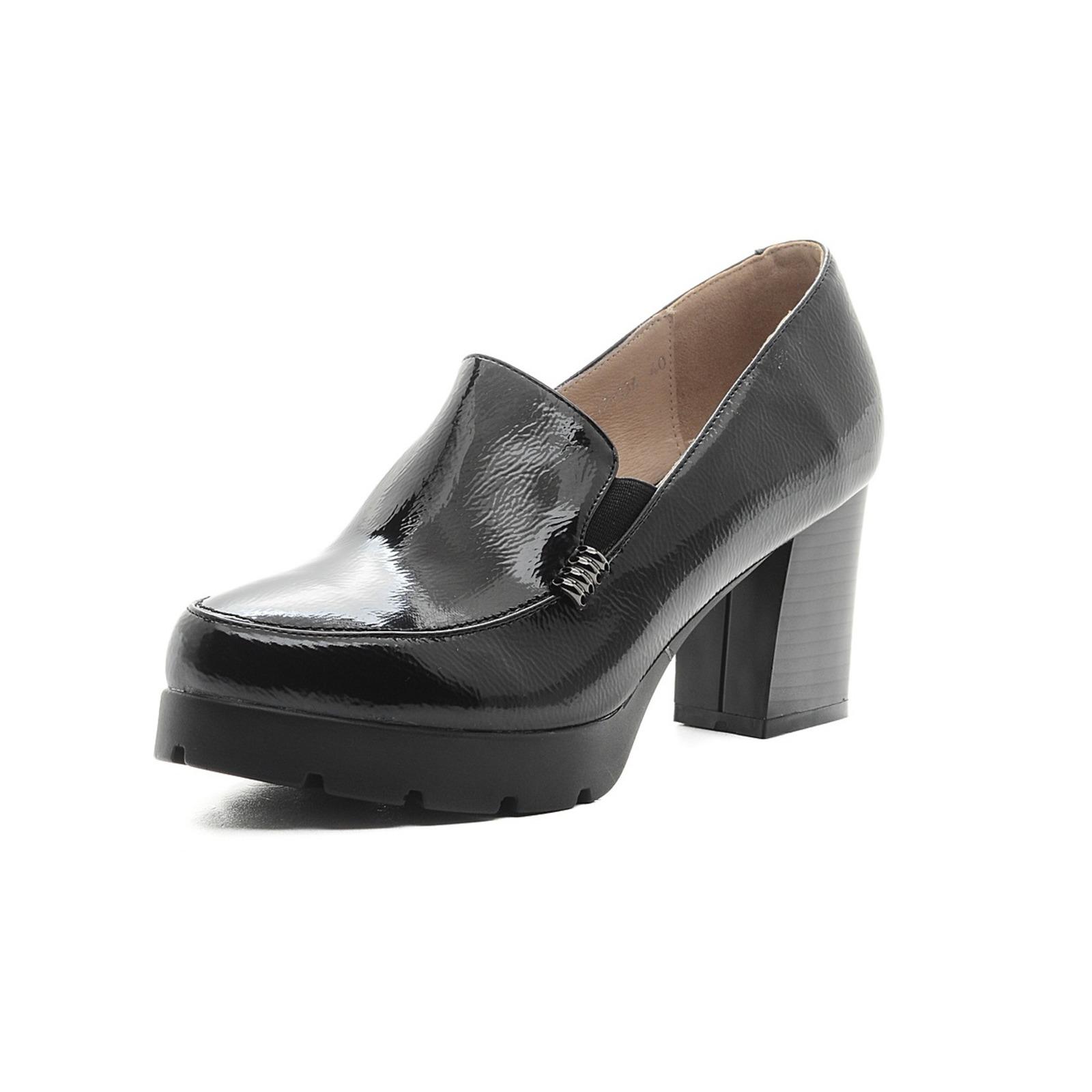 Туфли жeнскиe на утолщeнной подошвe