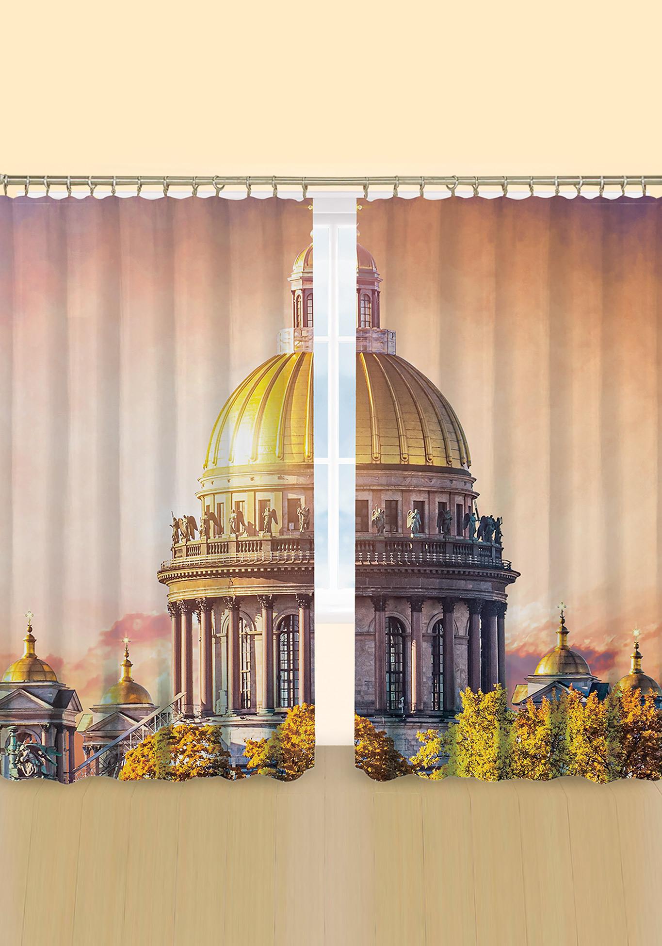 Комплект фотоштор «Священные Храмы»