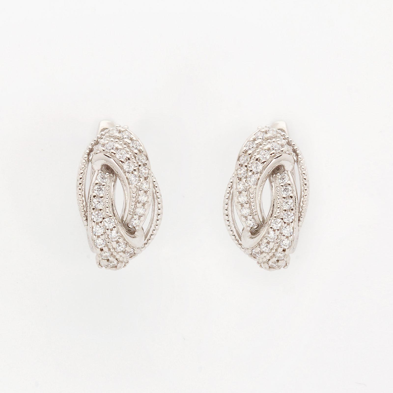 Серебряные серьги «Карина»