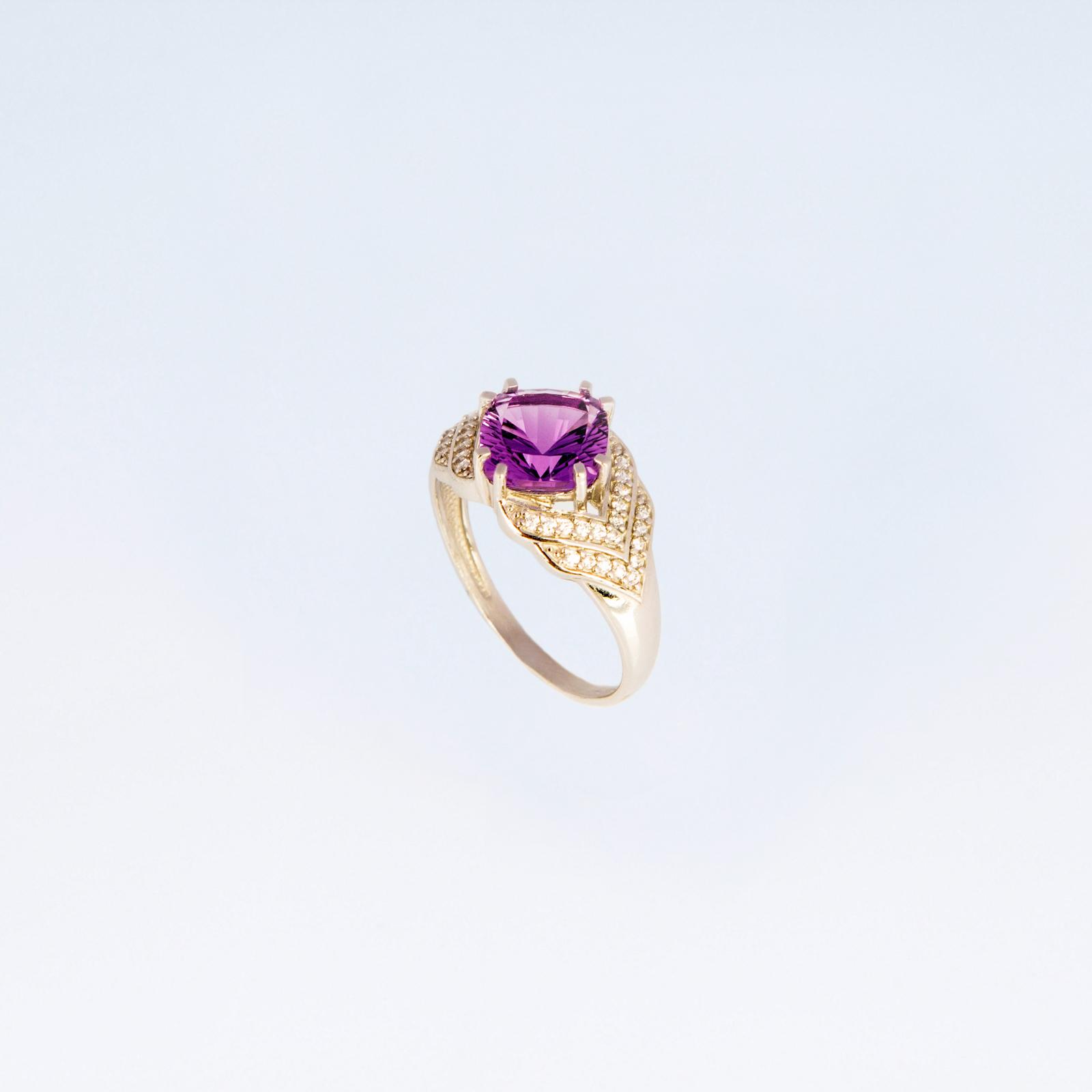 Серебряное кольцо «АртДеко»