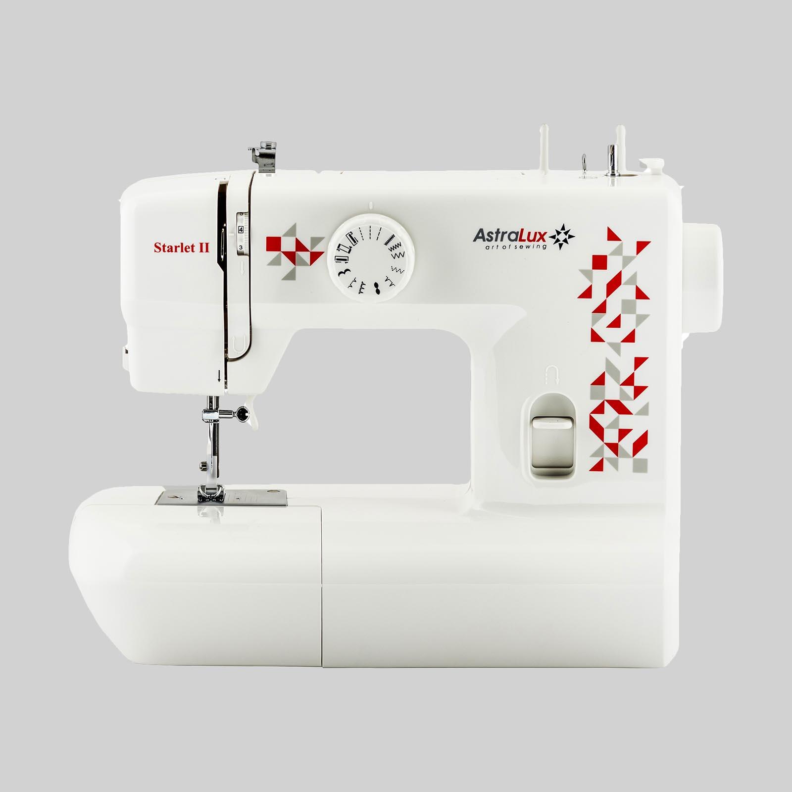 Швейная машинка с электромеханическим управлением «Astralux»