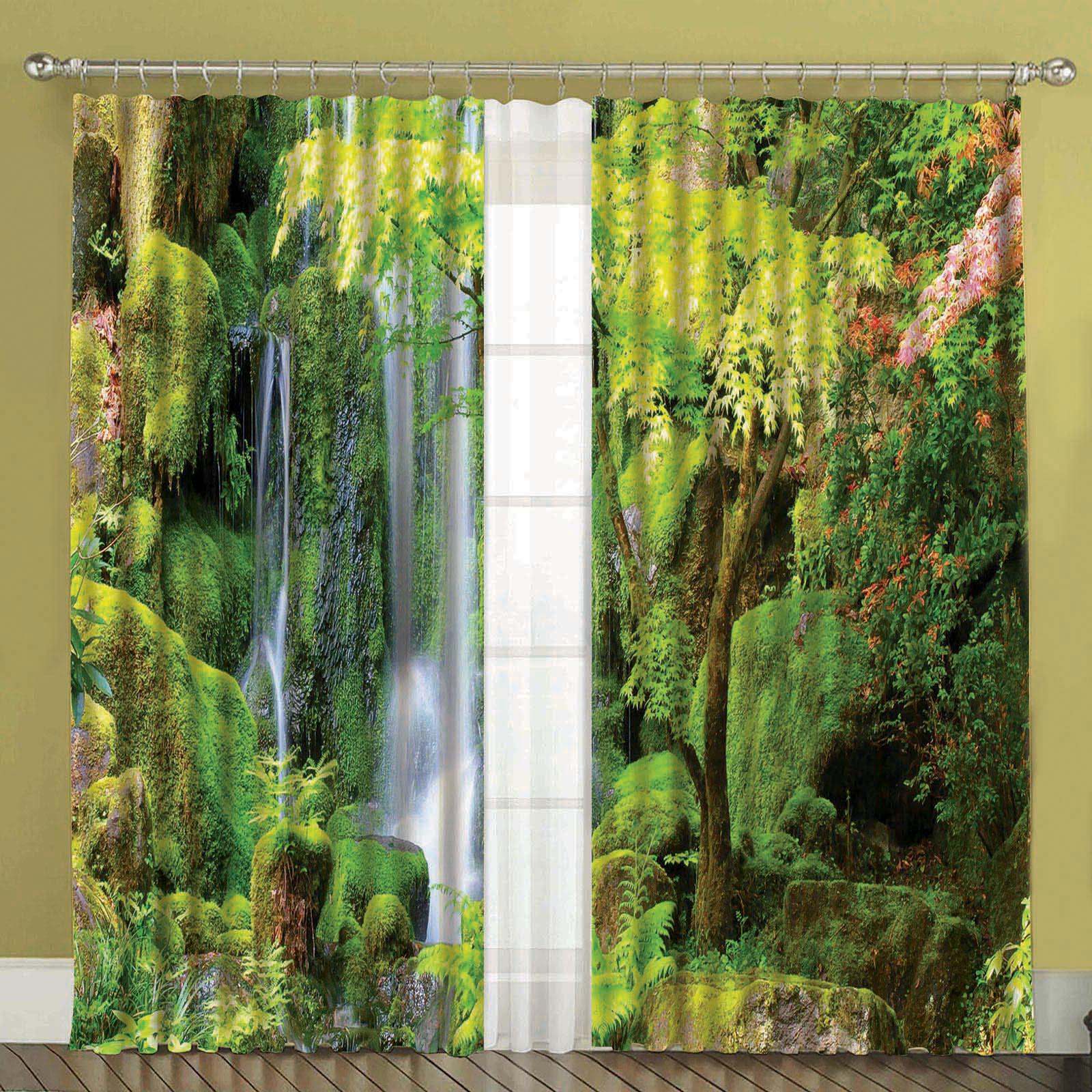 Комплект штор + тюль «Водопад»