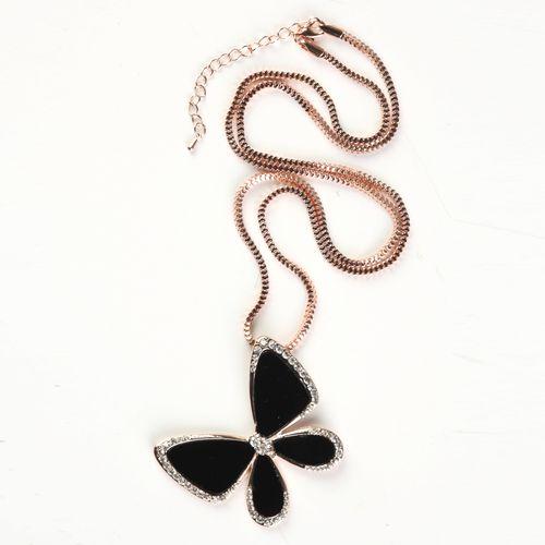 Кулон на цепочке «Бабочка»