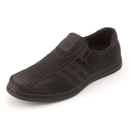 Мужские туфли на липучке
