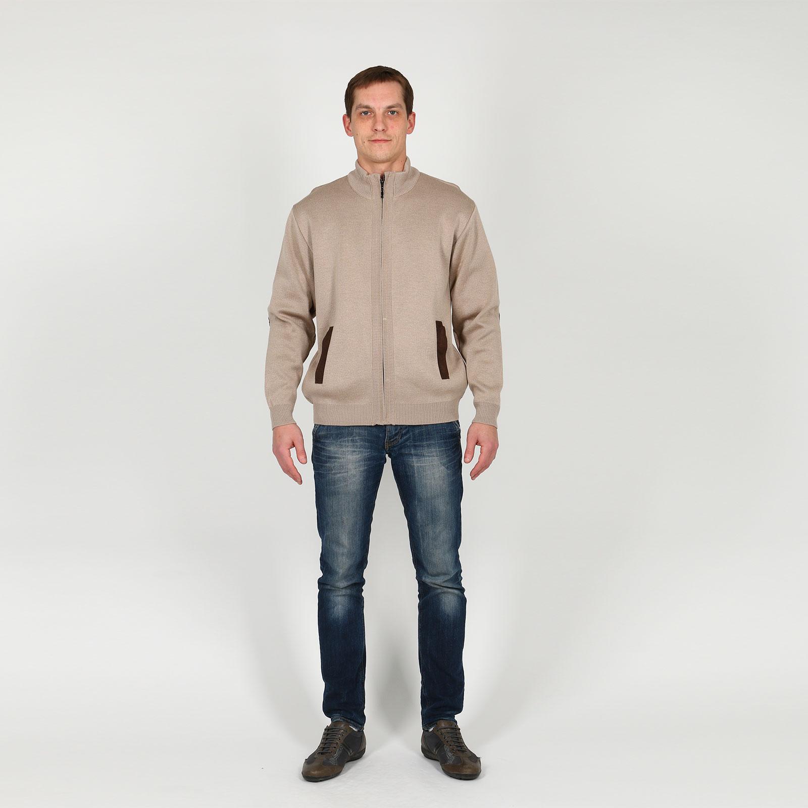Кардиган мужской с карманами