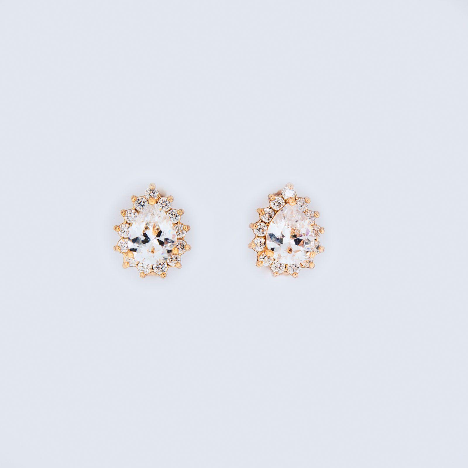 Серьги «Алмазный цветок»