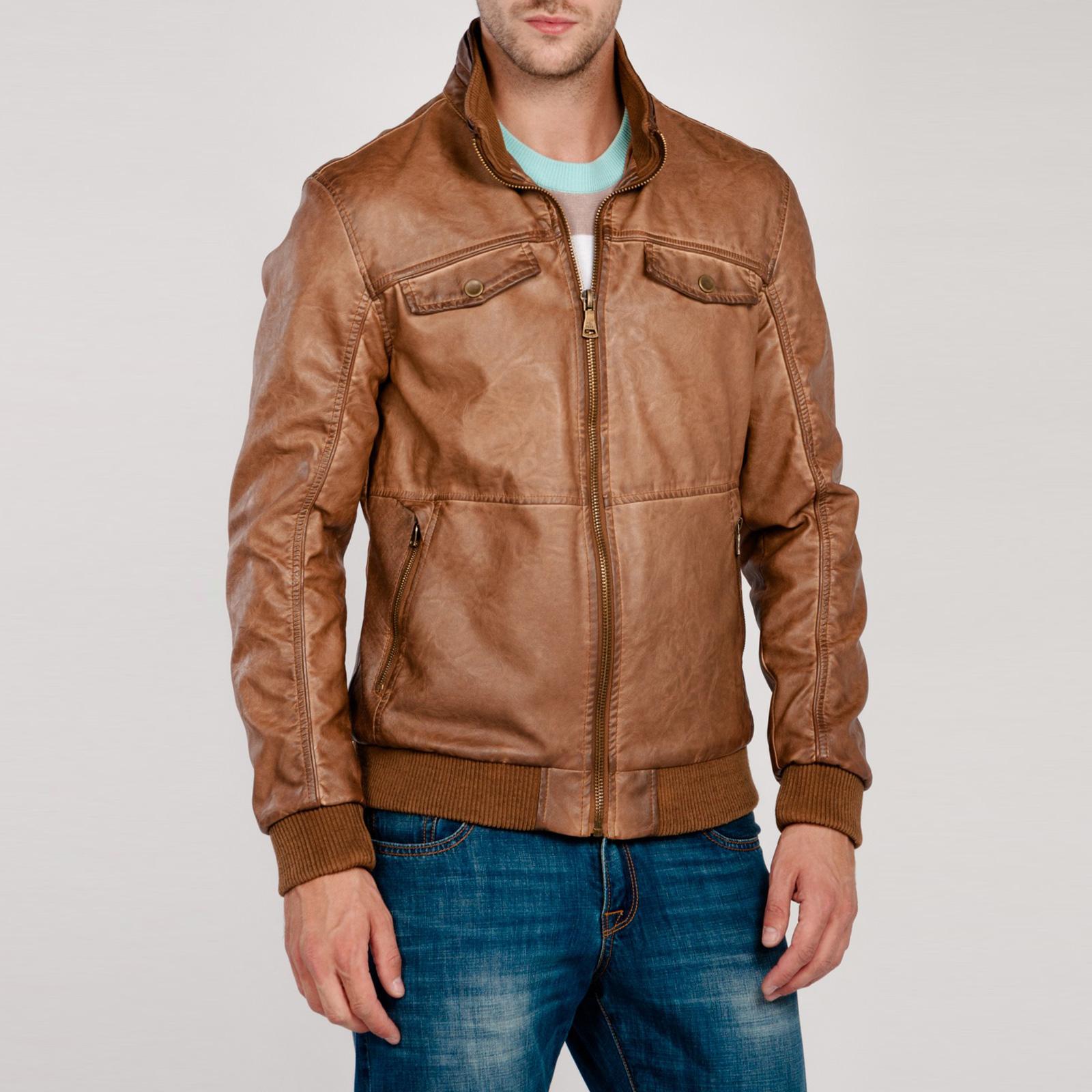 Куртка мужская на молнии с карманами