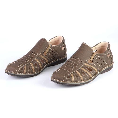 Мужские сандалии с закрытым мысом