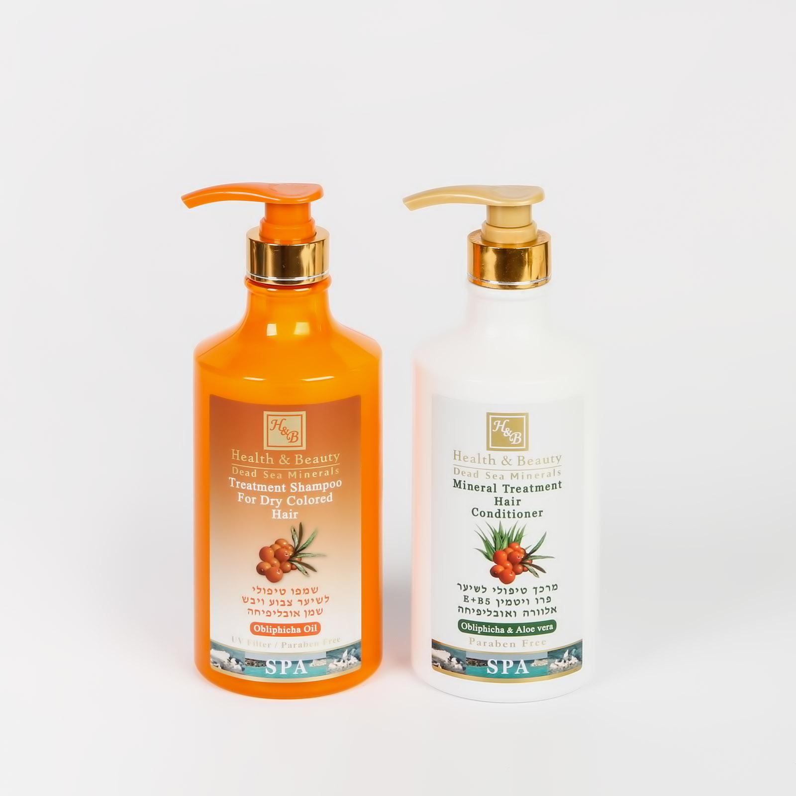 Набор шампунь + кондиционер для волос с маслом Облепихи