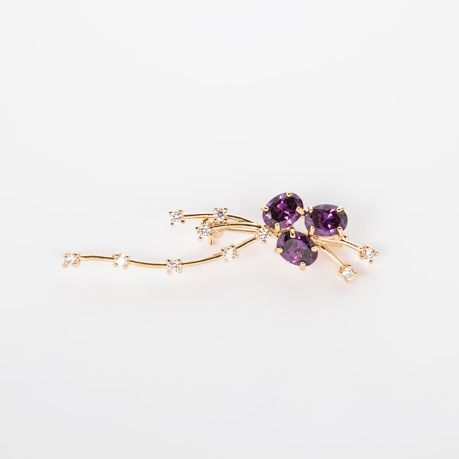 Брошь «Фиолетовая Фея»