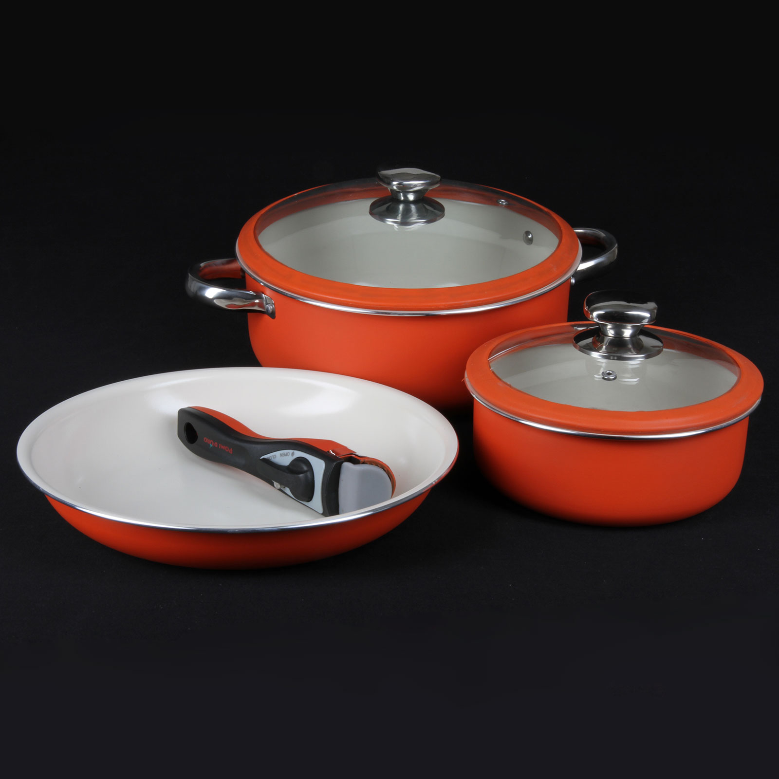 Набор посуды со съёмной ручкой «Идеальный»