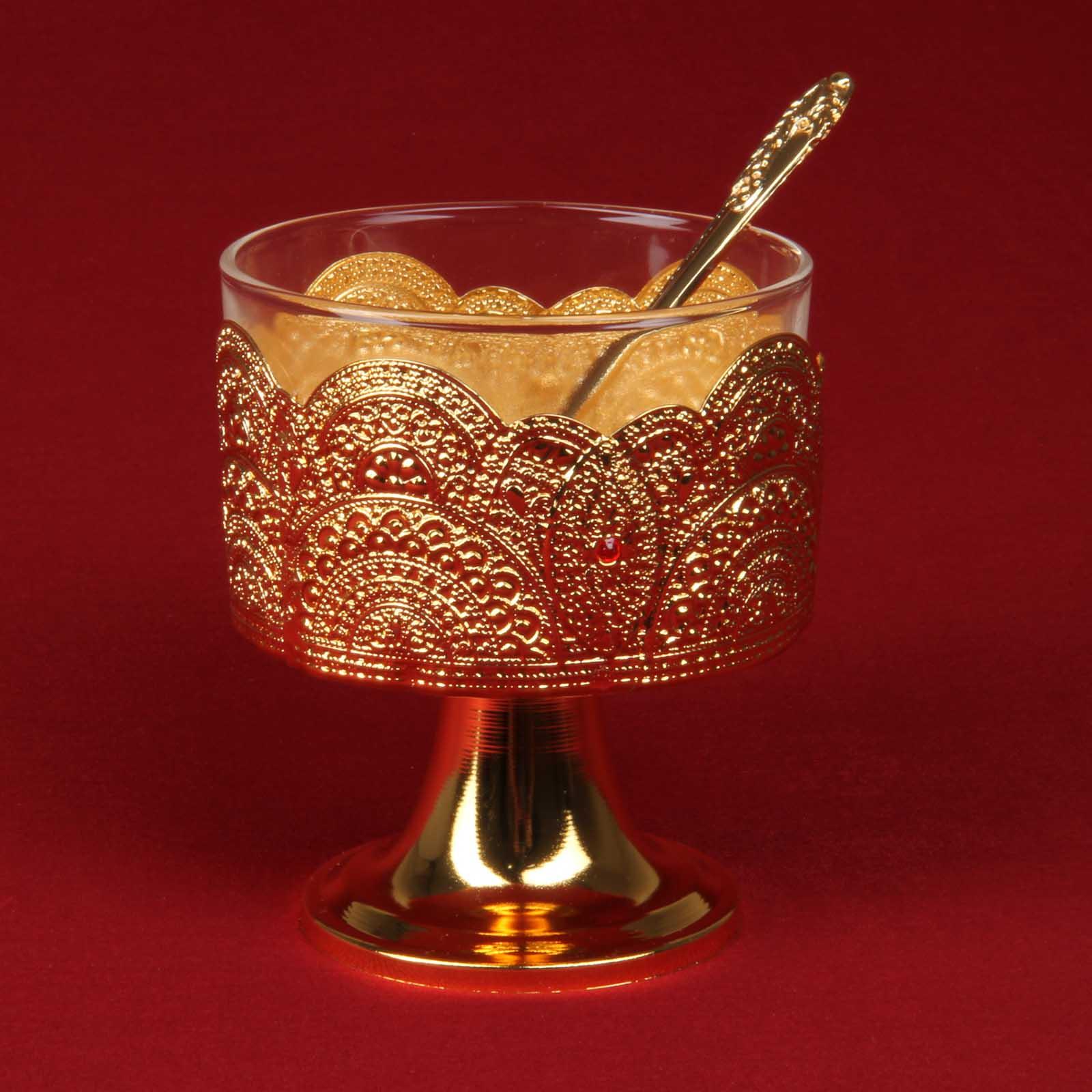 Креманка «Золотое кружево»