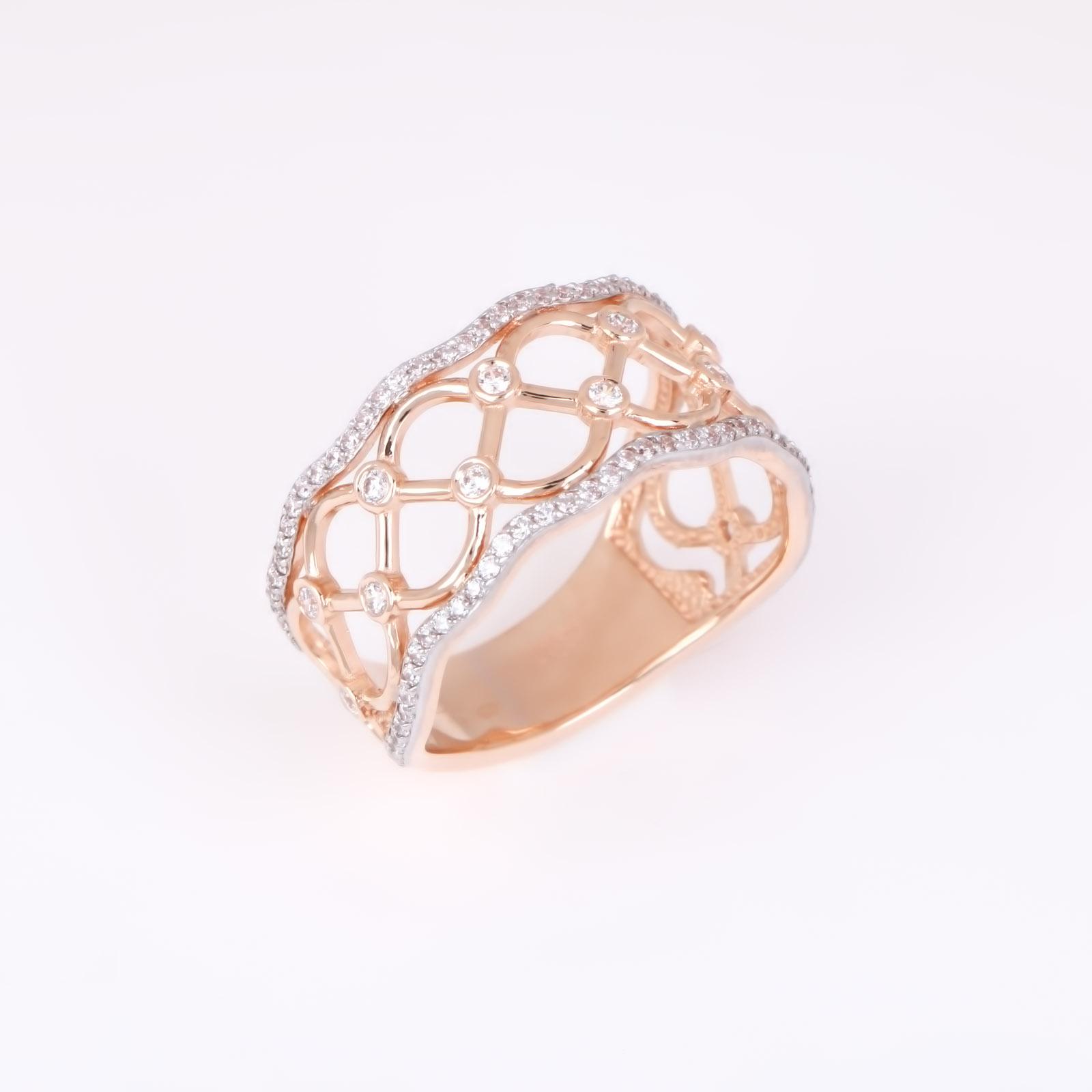 Золотое кольцо «Венера»