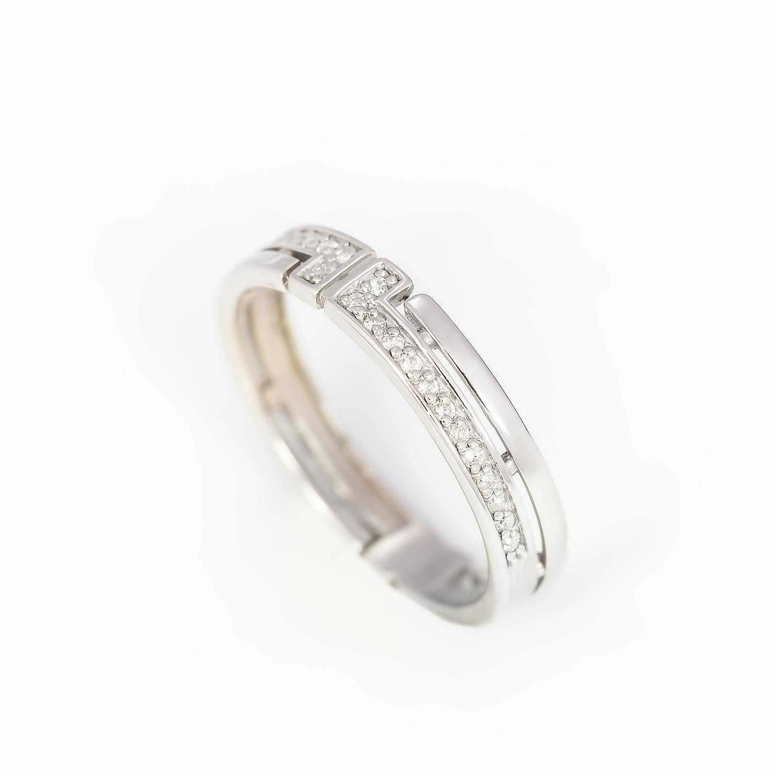 Серебряное кольцо «Американский стиль»