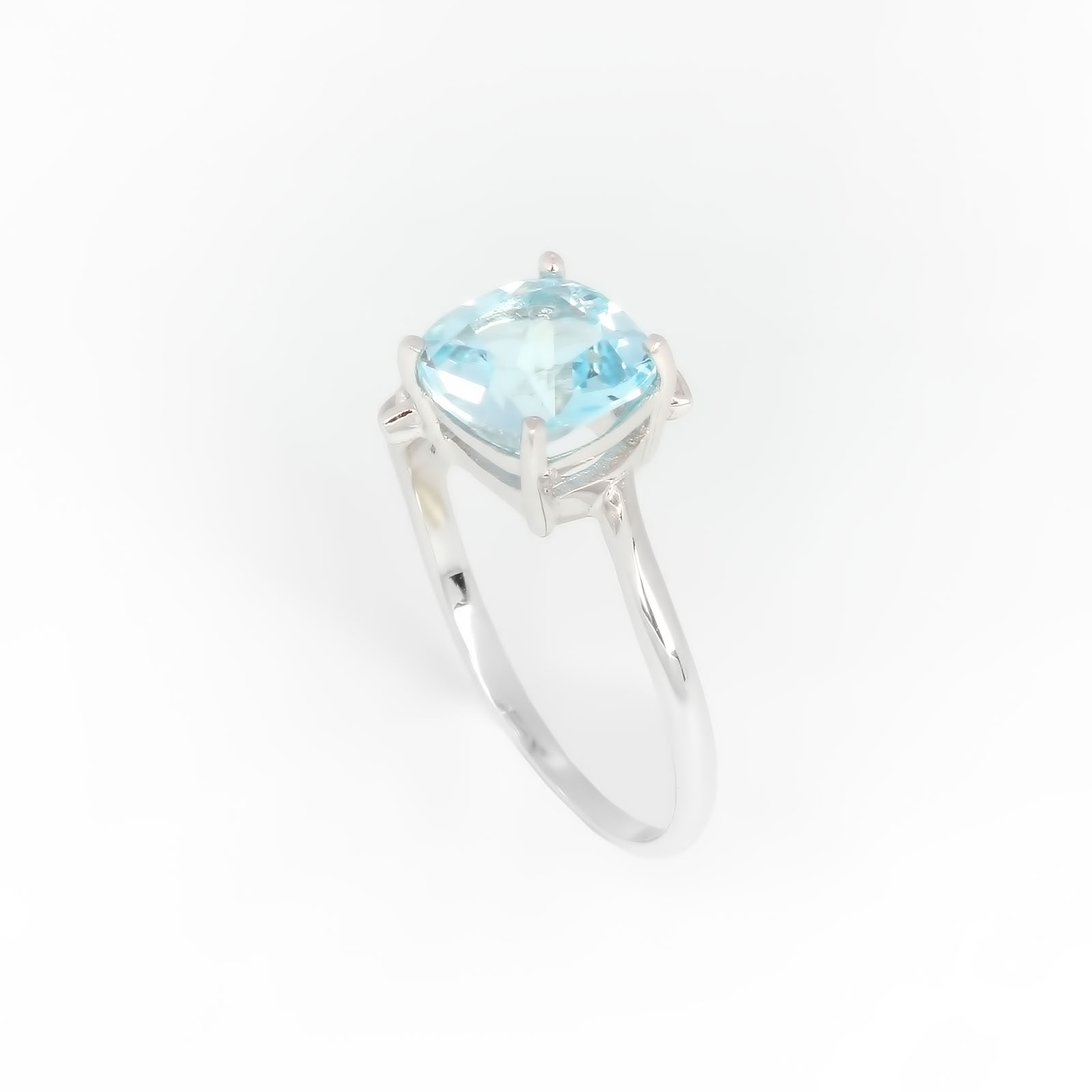 Серебряное кольцо «Лазурный берег»