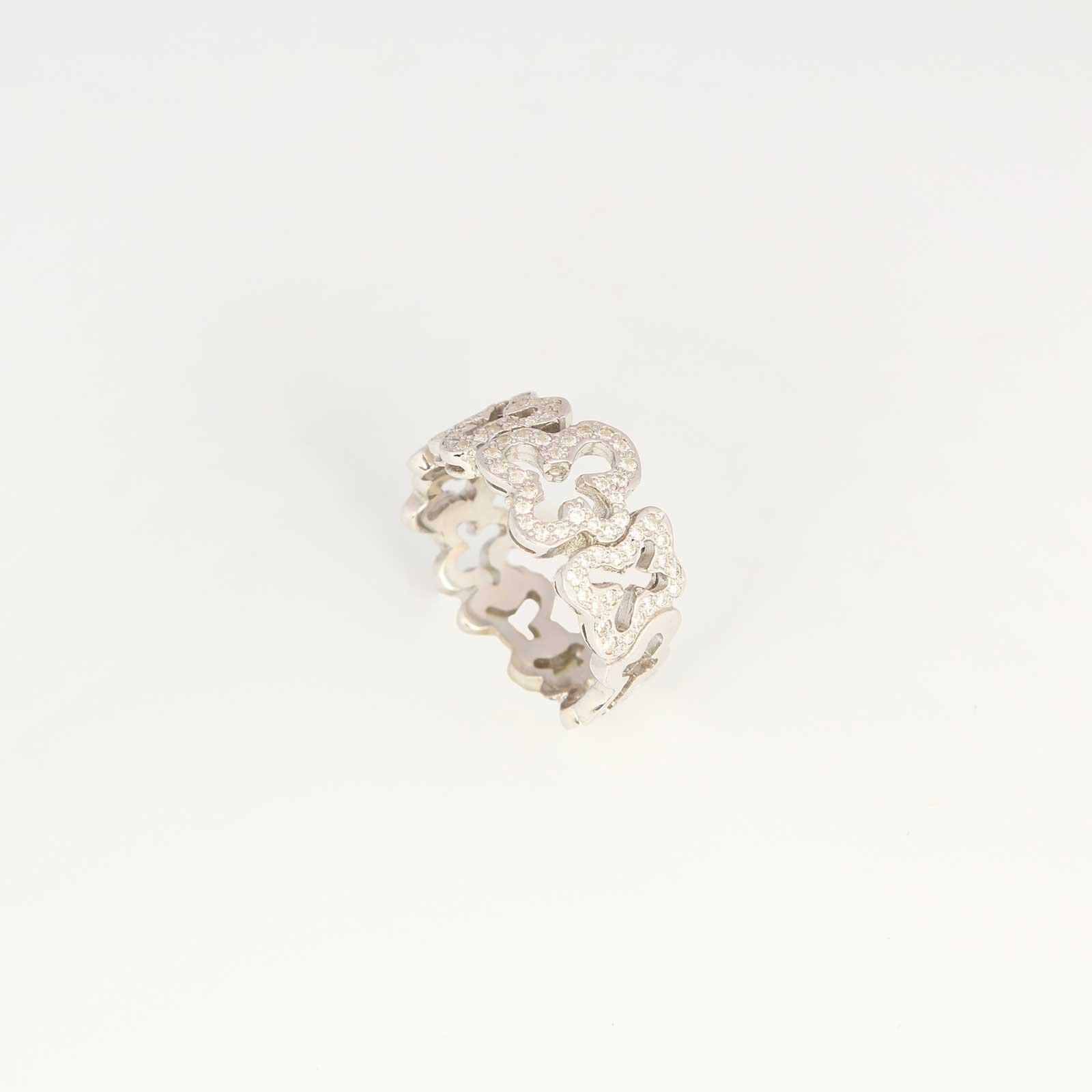 Серебряное кольцо «Мила»
