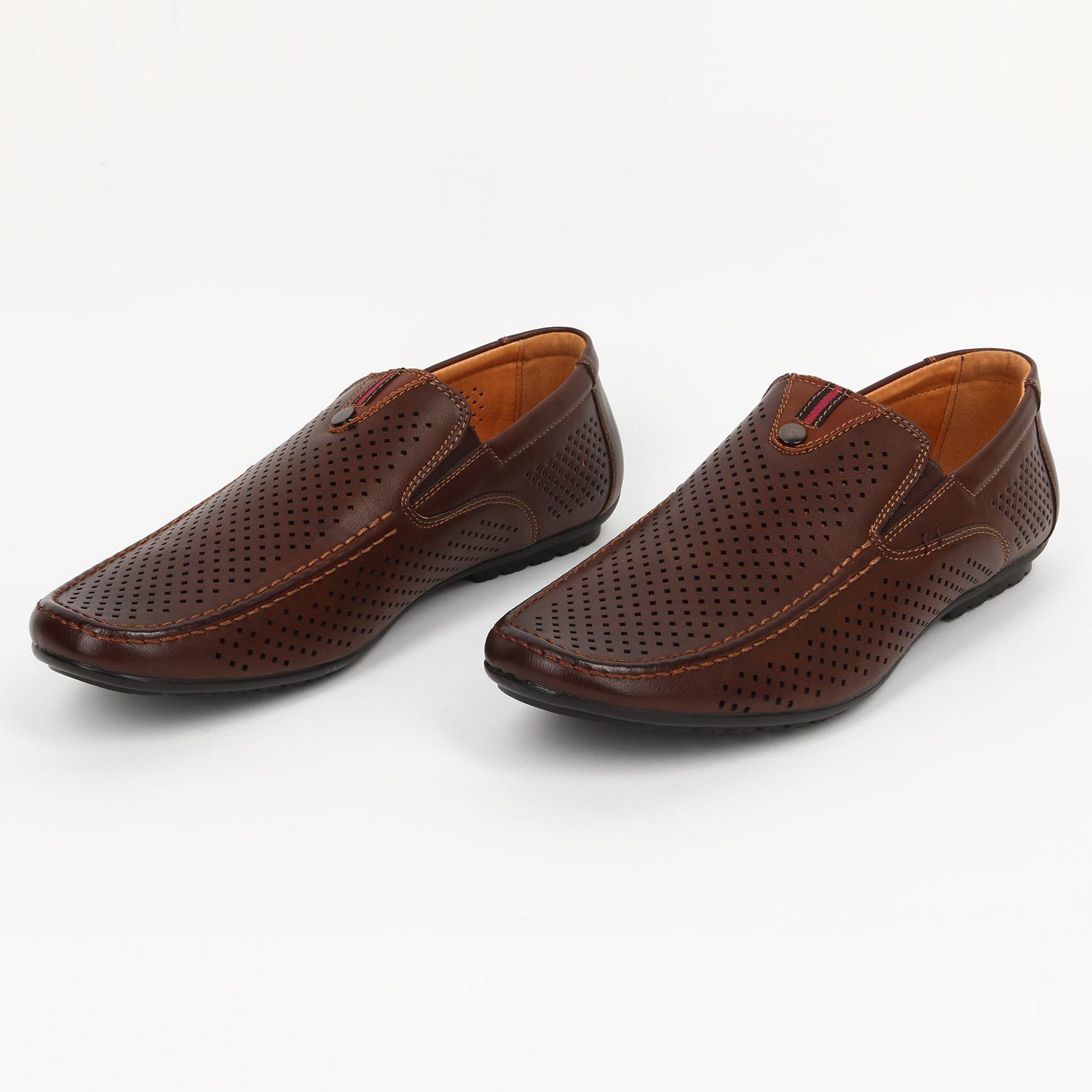 Туфли мужские с пeрфорацией