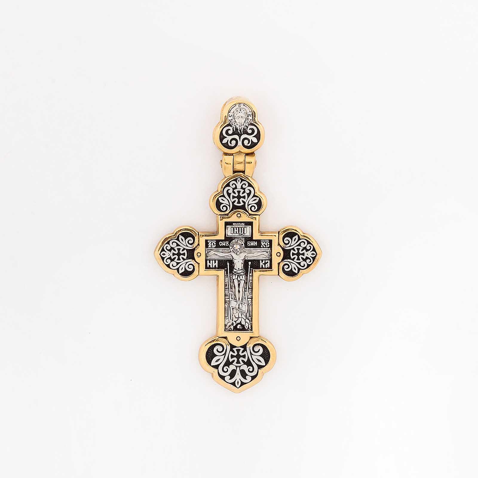 Крест «Распятие Христово. Ангел-Хранитель»