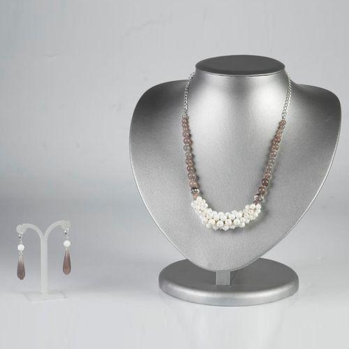 Комплект украшений «Белая стрекоза»