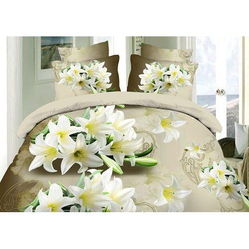 Комплект постельного белья «Грациозные лилии»