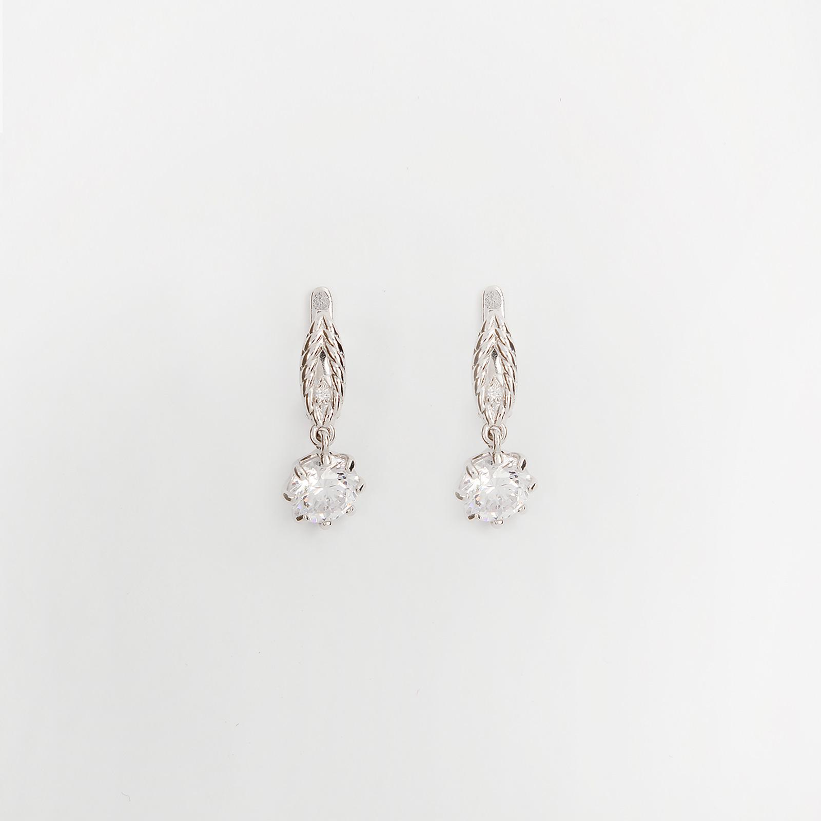 Серебряные серьги «Венеция»