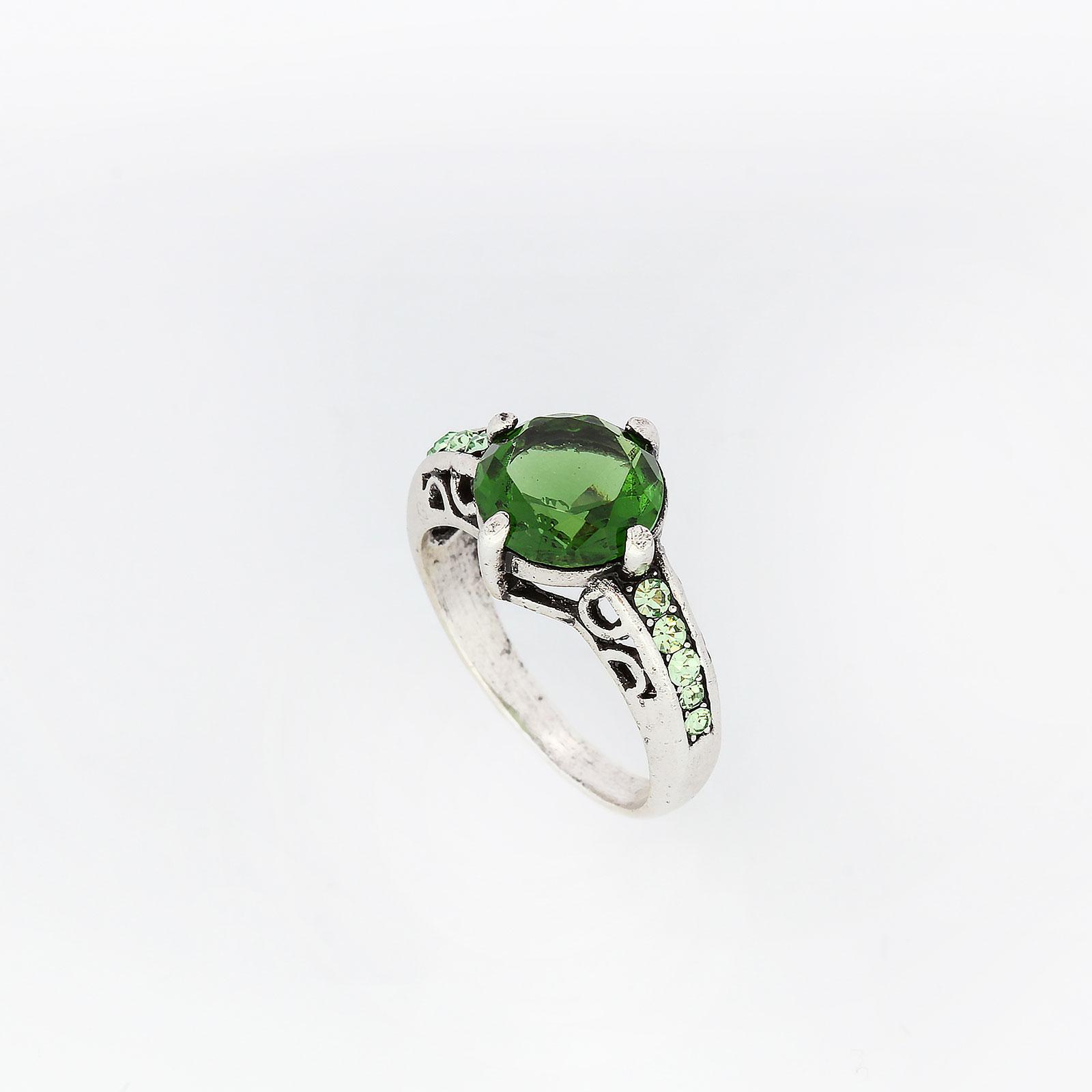 Кольцо «Индийский изумруд»