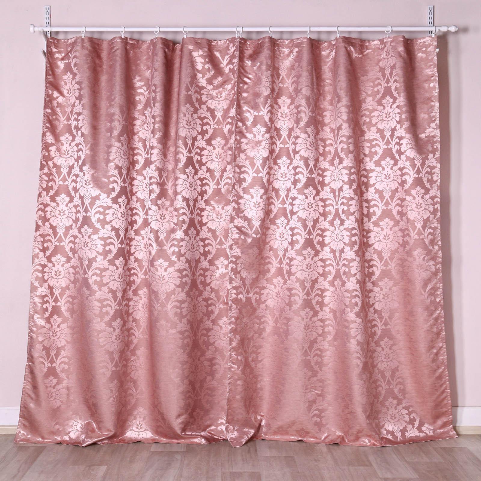 """Комплект штор """"Розовый Узор"""""""