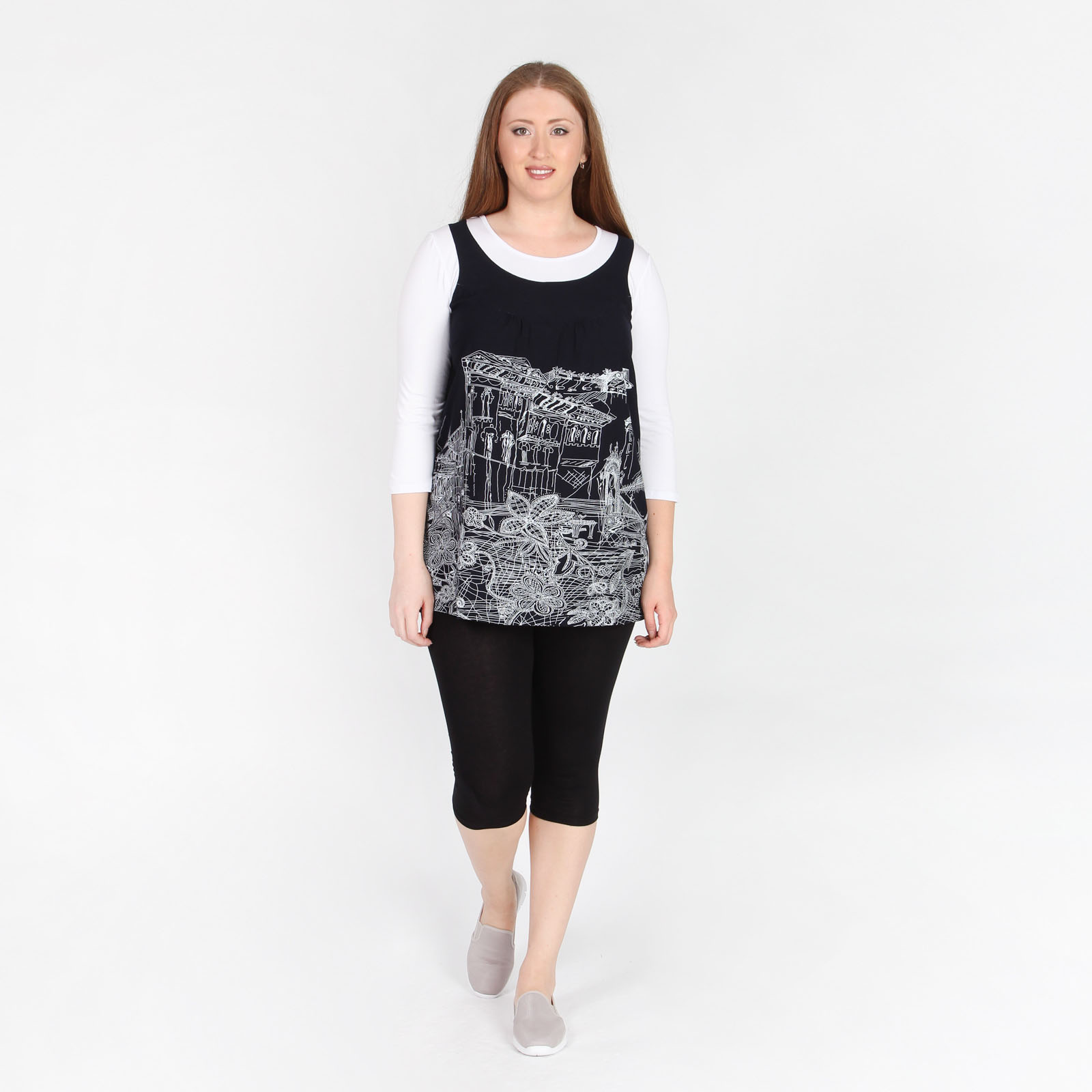 Комплект: блуза и леггинсы