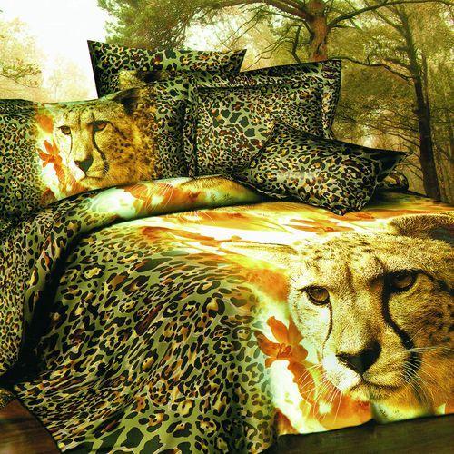 Комплект постельного белья «Золотой леопард»