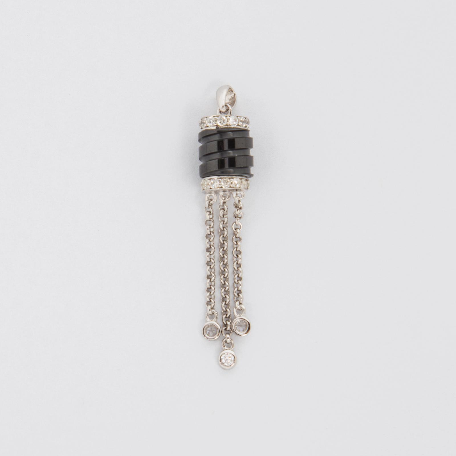 Серебряная подвеска «Чарующая ночь»