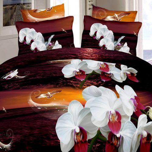 Комплект постельного белья «Прекрасные орхидеи»