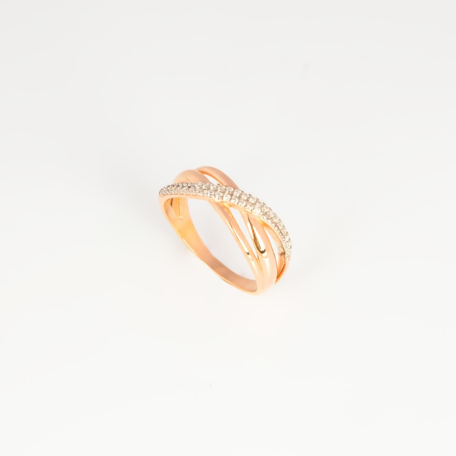 Серебряное кольцо «Линия судьбы»