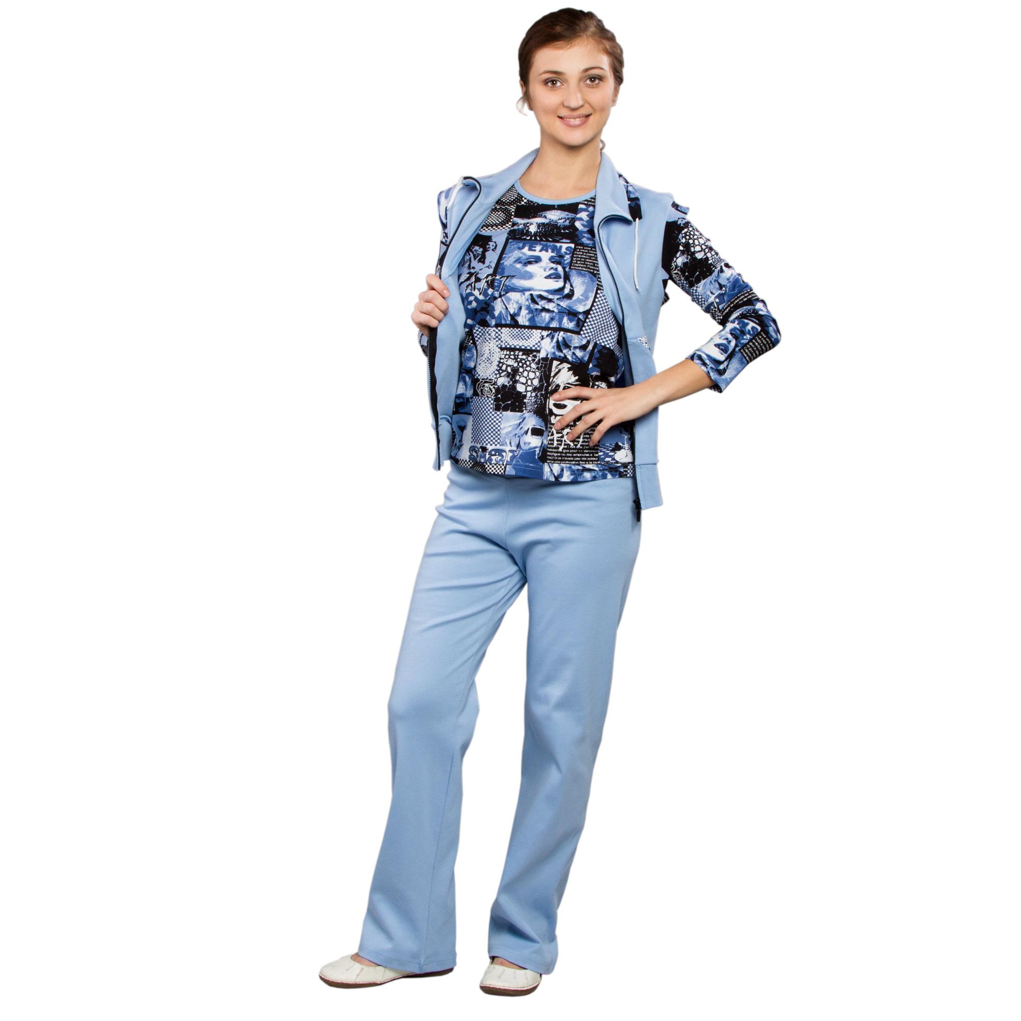 Женский костюм с жилетом «Тройка»