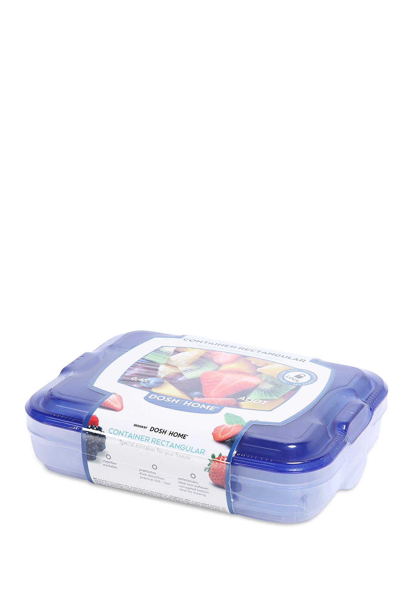 Фото - Контейнер ALIOT, прямоугольный контейнеры для еды dosh home контейнер прямоугольный aliot 1 5 л