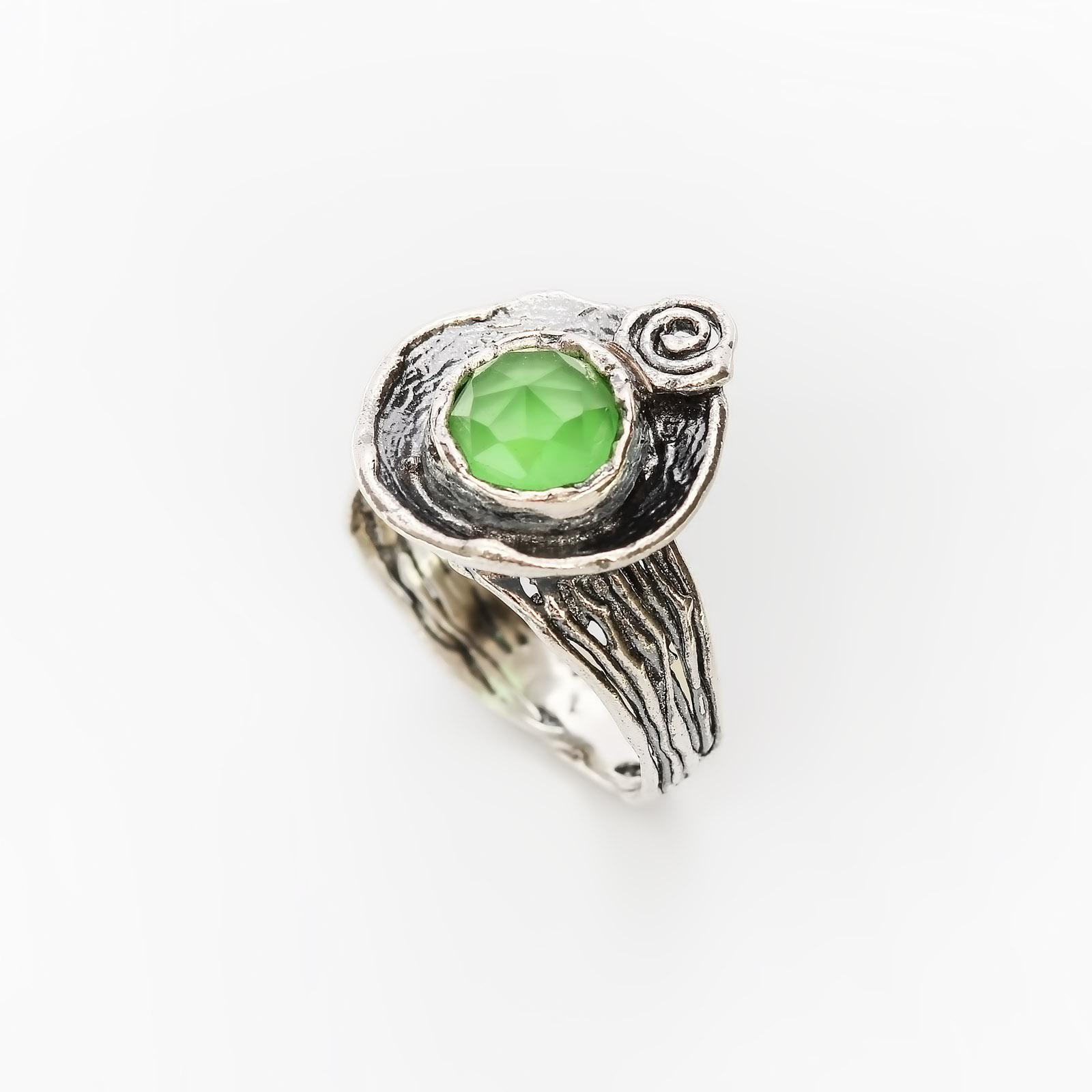 Серебряное кольцо «Ветер в ивах»