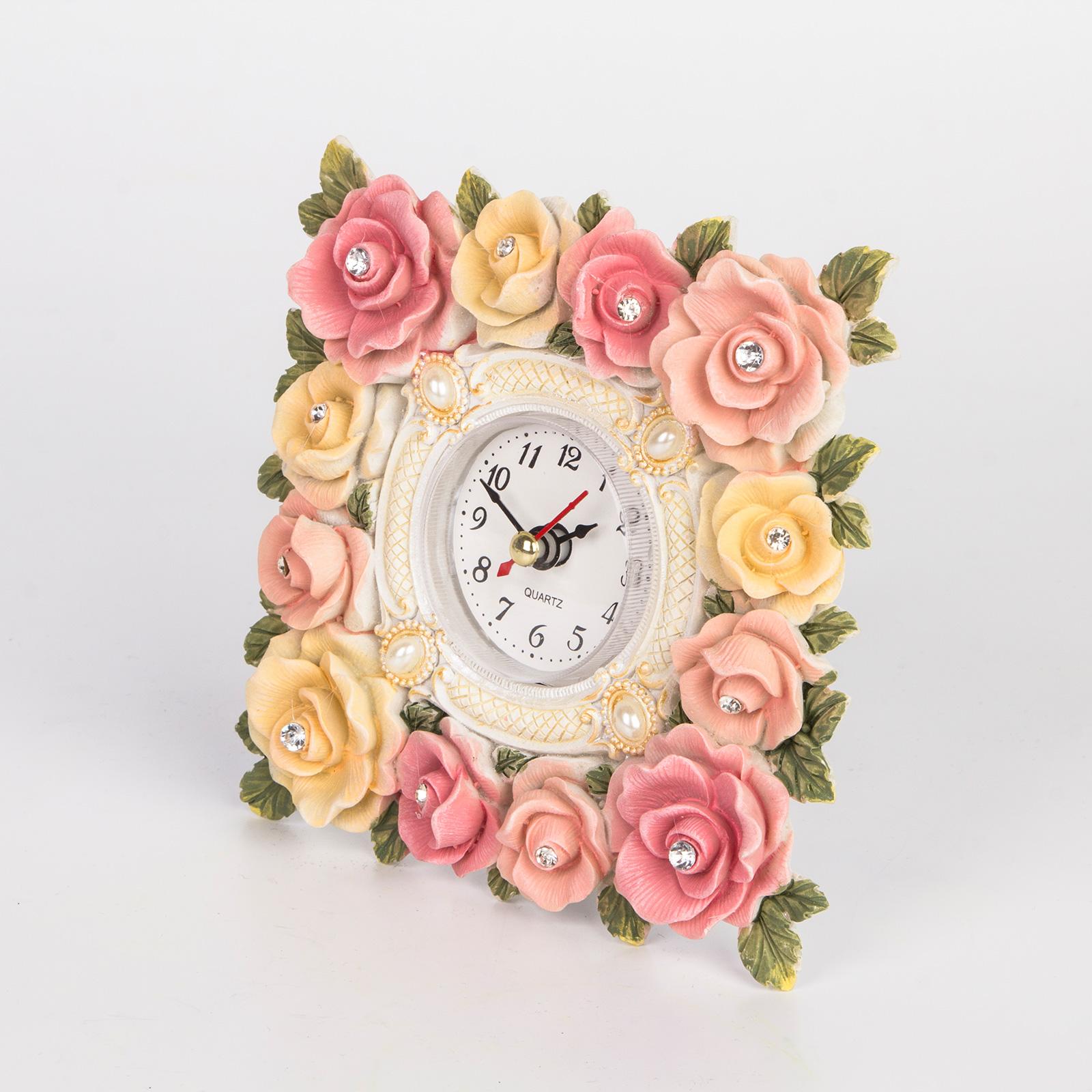 Часы настольные «Розарий»
