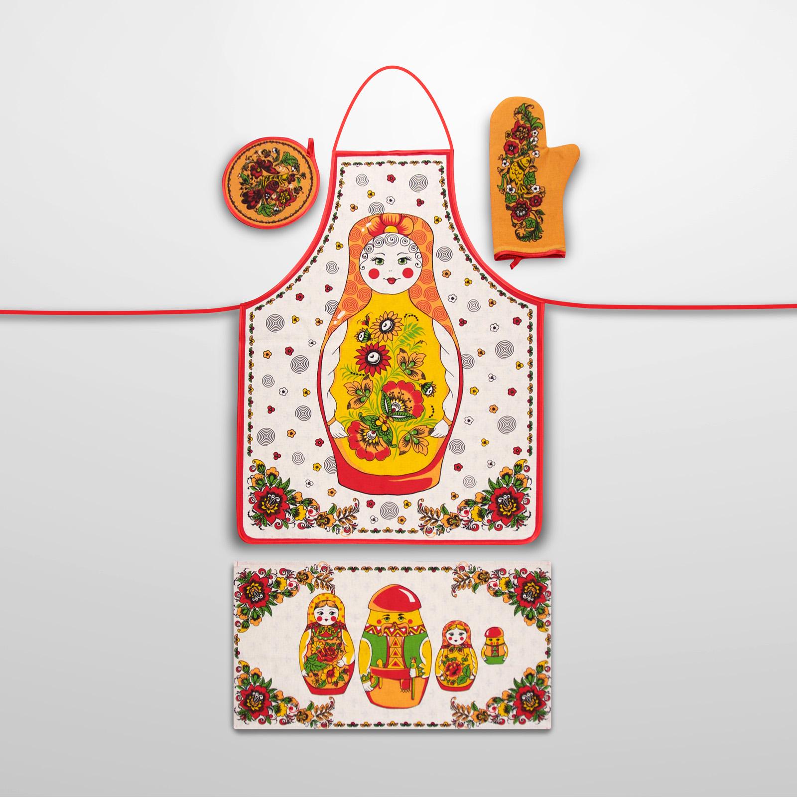 Набор для кухни «Матрешка»