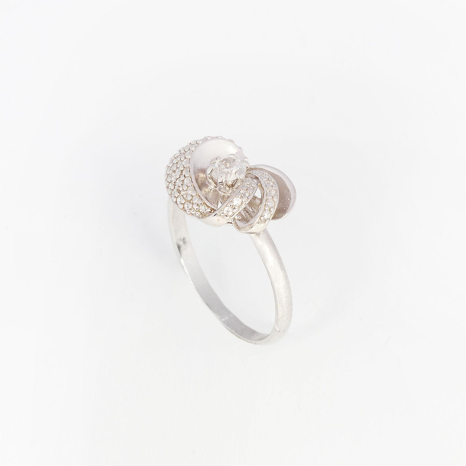 Серебряное кольцо «Сказочный цветок»