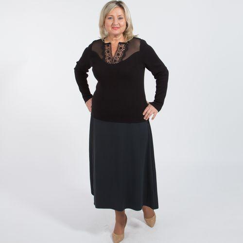 Джемпер с кружевными вставками винтажная одежда интернет магазин купить