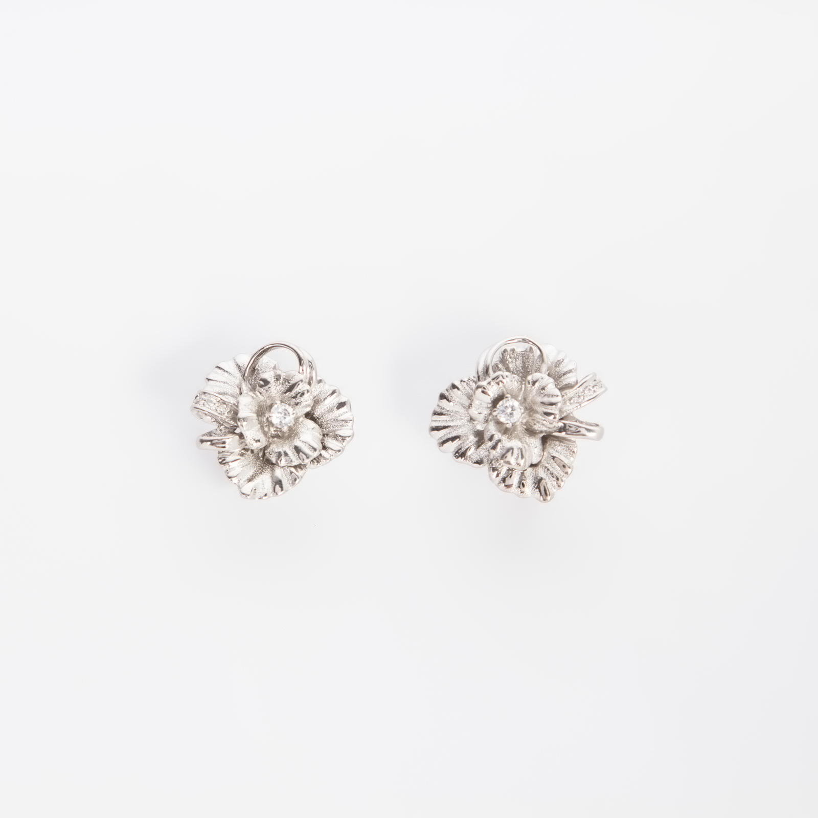 Серебряные серьги «Женская тайна»