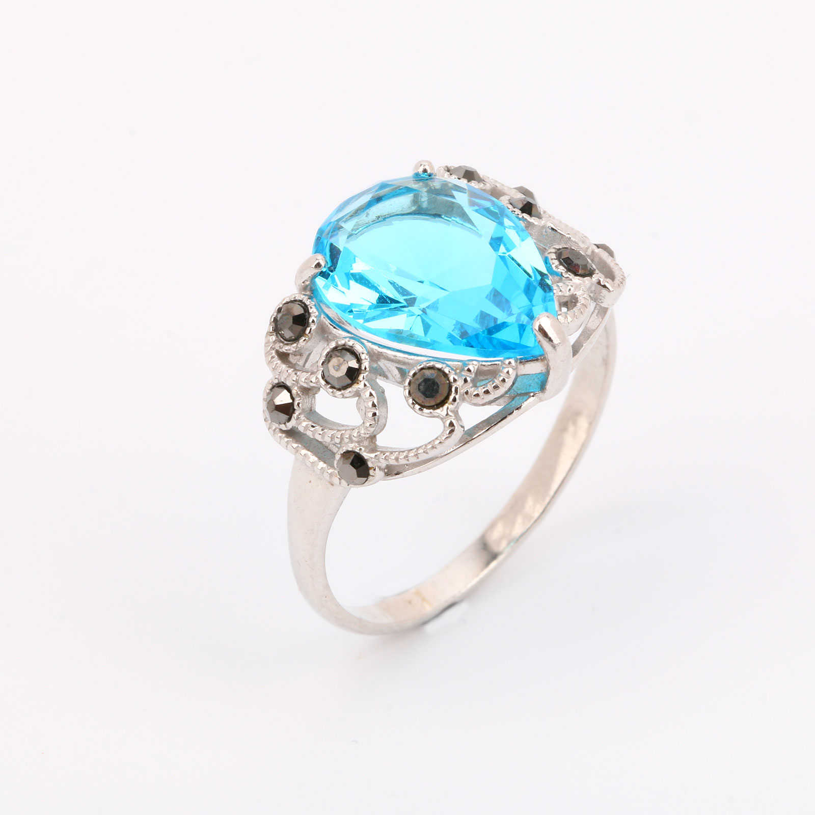 """Серебряное кольцо """"Небесное сокровище"""""""