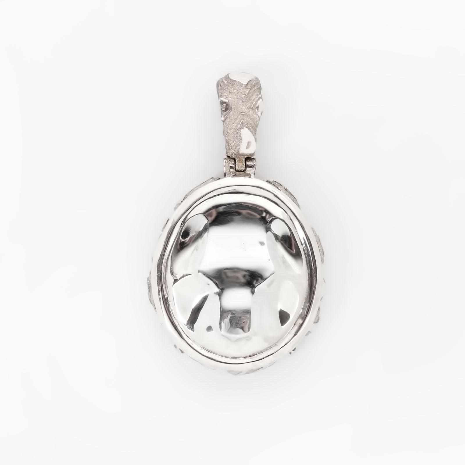 Серебряная подвеска  «Тотем тигр»