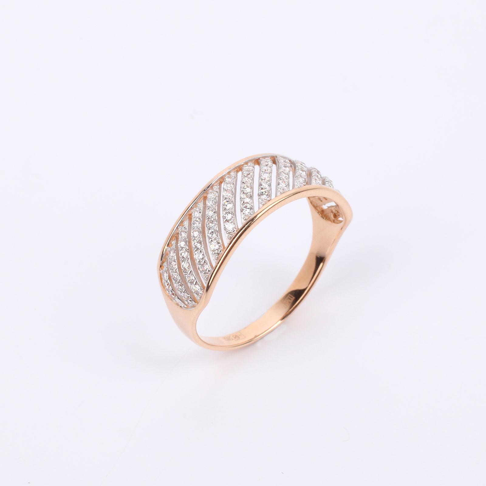 """Золотое кольцо """"Искристая дорожка"""""""