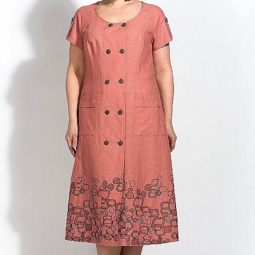 Платье с вышивкой по низу платье с вышивкой