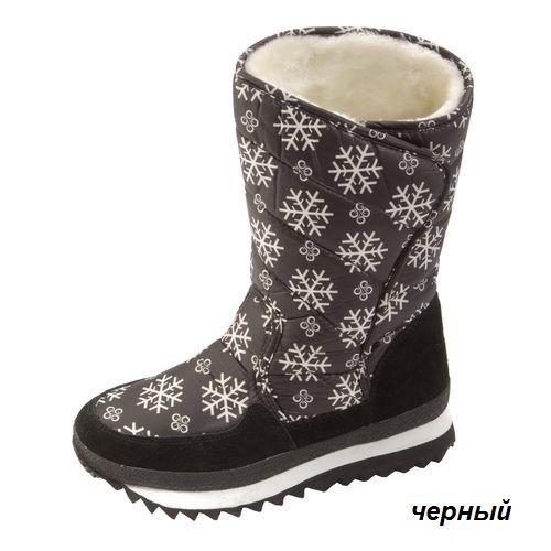 Женские сапоги «Снежинки»