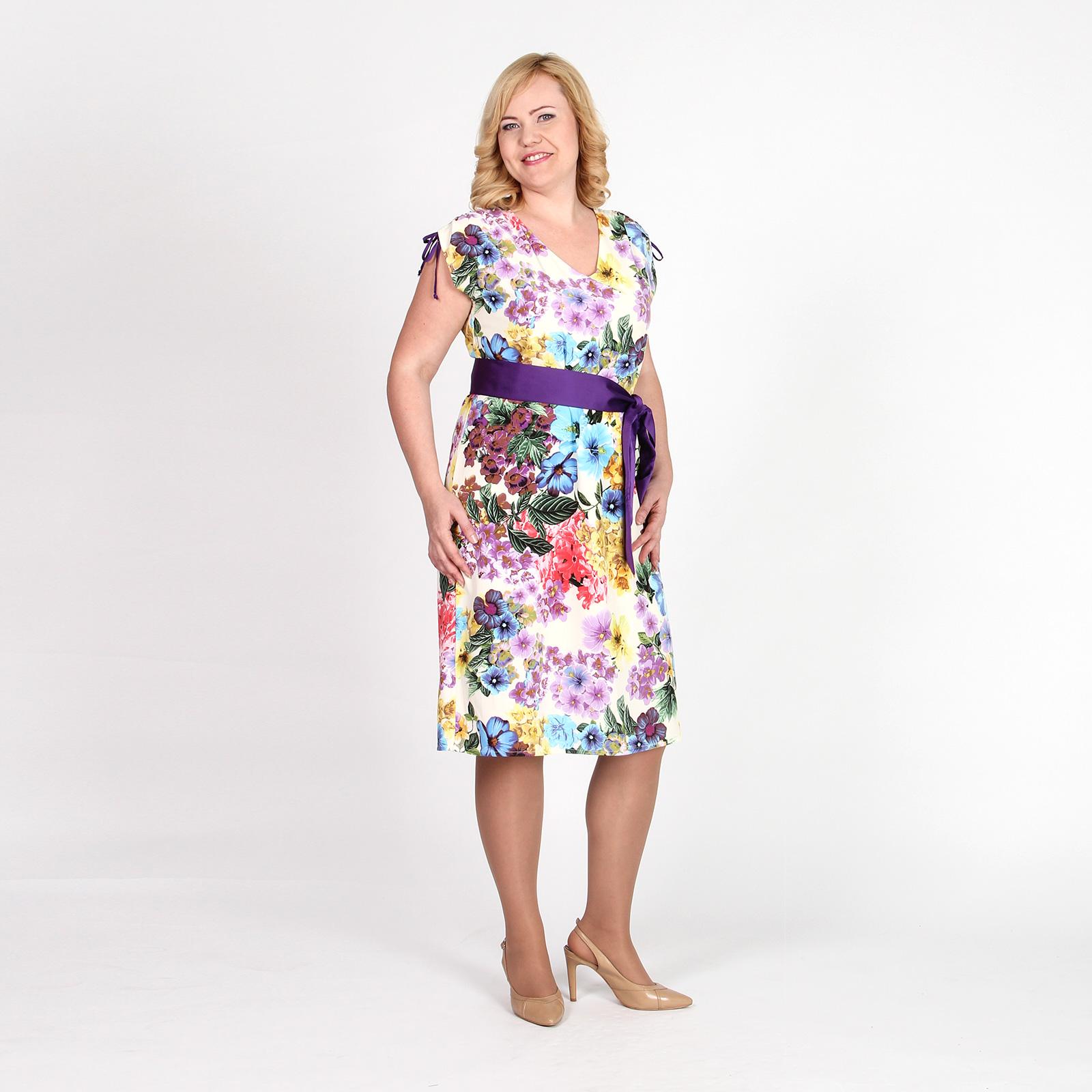 Платье летнее с регулируемыми лямками